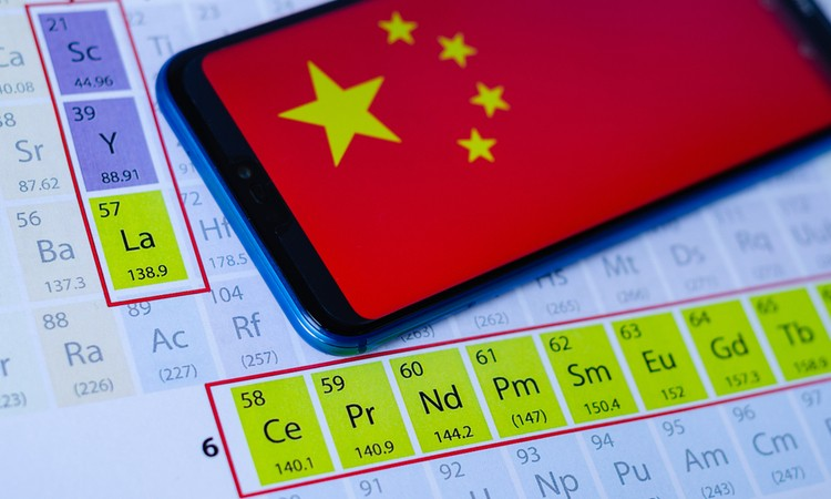 China's focus on rare earth materials patents may spell trouble for the US