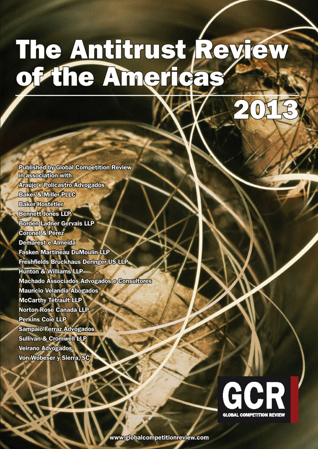The Antitrust Review of the Americas 2013