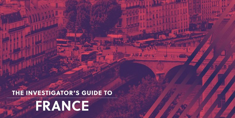 Investigator's Guide to France