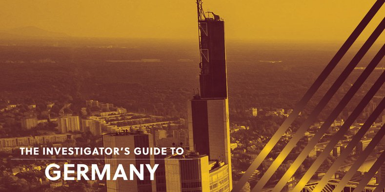 Investigator's Guide to Germany
