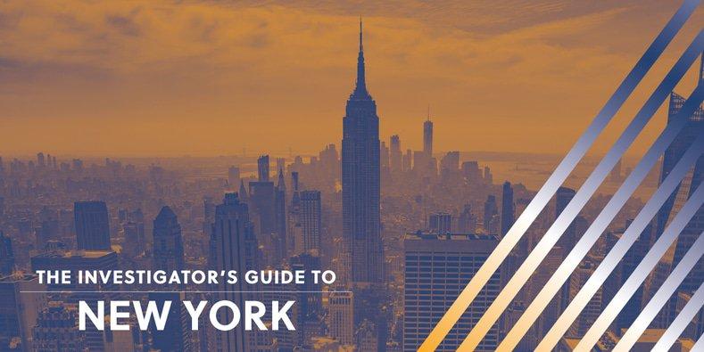 Investigator's Guide to New York