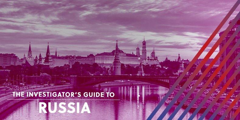 Investigator's Guide to Russia