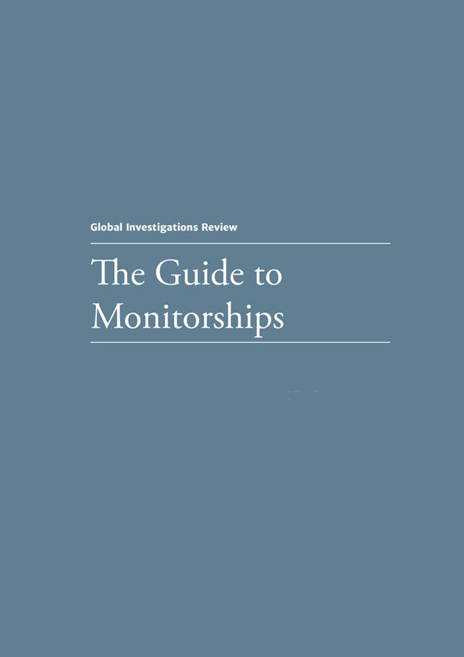 The Guide to Monitorships - First Edition