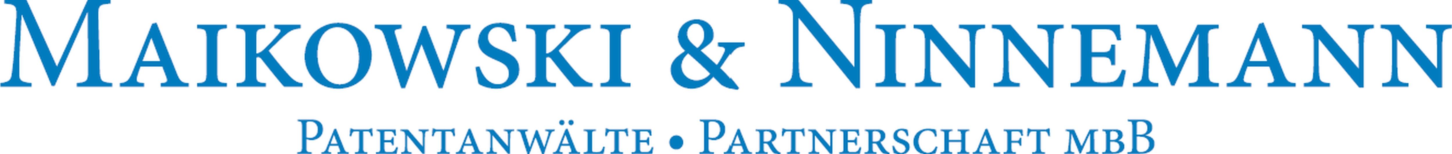 Maikowski & Ninnemann Patentanwälte Partnerschaft mbB