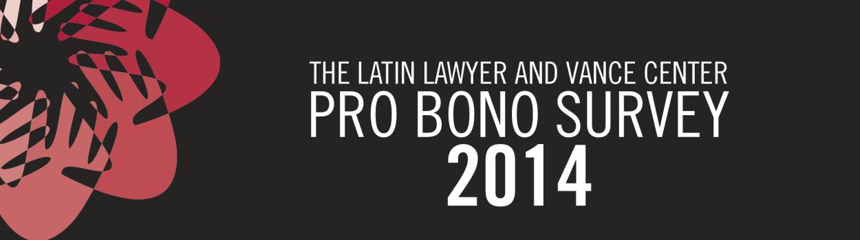 Pro bono 2014