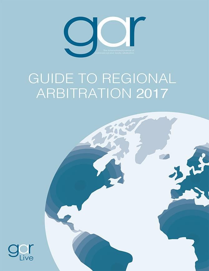 Guide to Regional Arbitration (volume 5 - 2017)