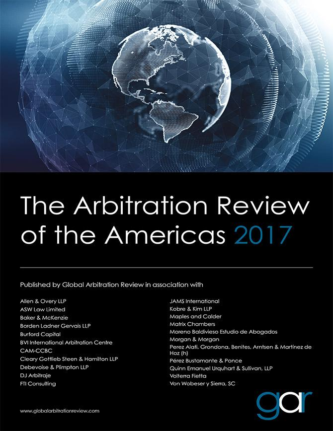 The Arbitration Review of the Americas 2017