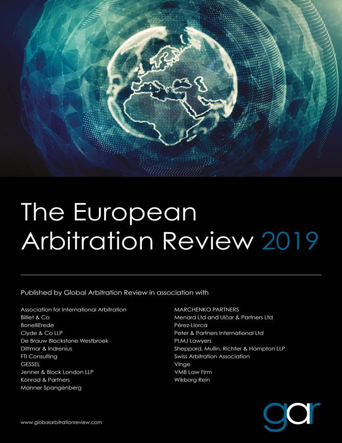 The European Arbitration Review 2019