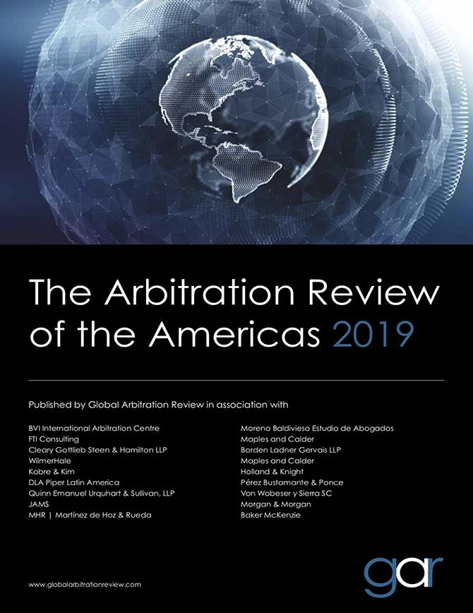 The Arbitration Review of the Americas 2019