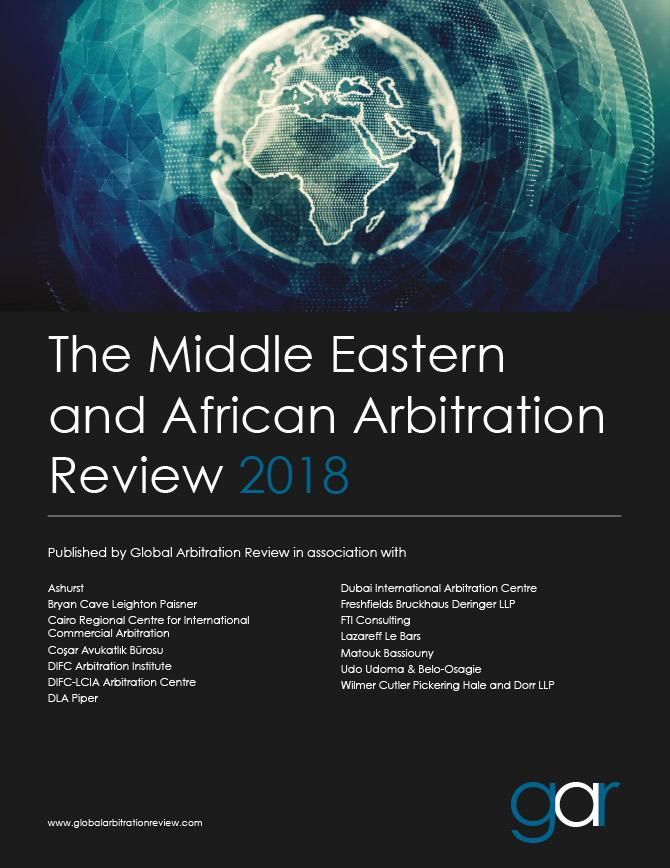 The Middle Eastern and African Arbitration Review 2018