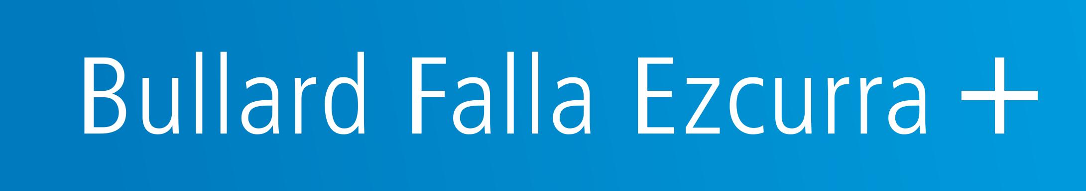 Bullard Falla Ezcurra +