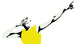 Bolt pose