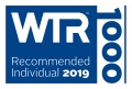 WTR 1000 recommended individual 2019