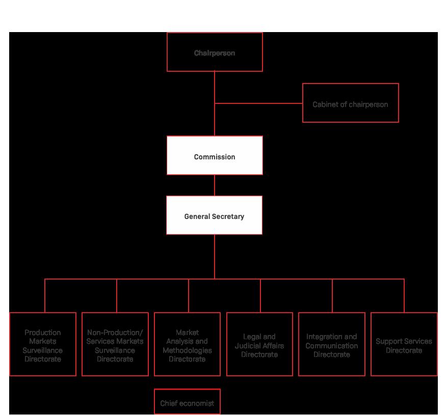 Organisation chart - Albania