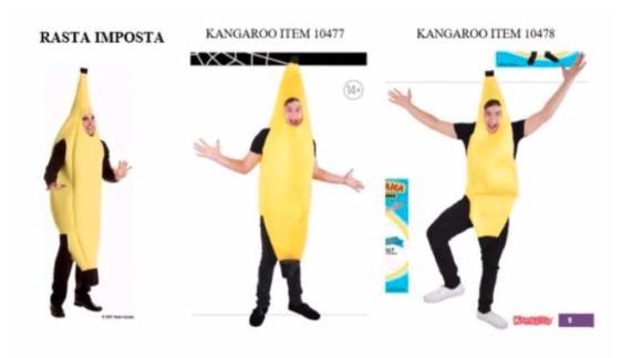 Figure 3: Banana costume