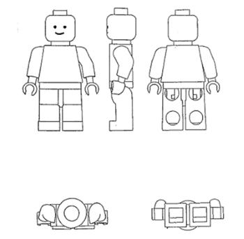 Figure 5. Lego figure (Case T‑396/14)