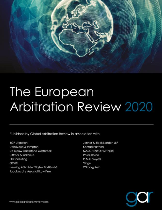 The European Arbitration Review 2020