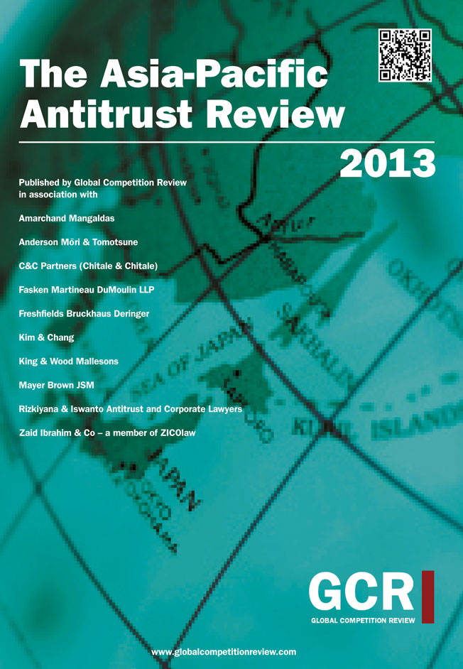 The Asia-Pacific Antitrust Review 2013