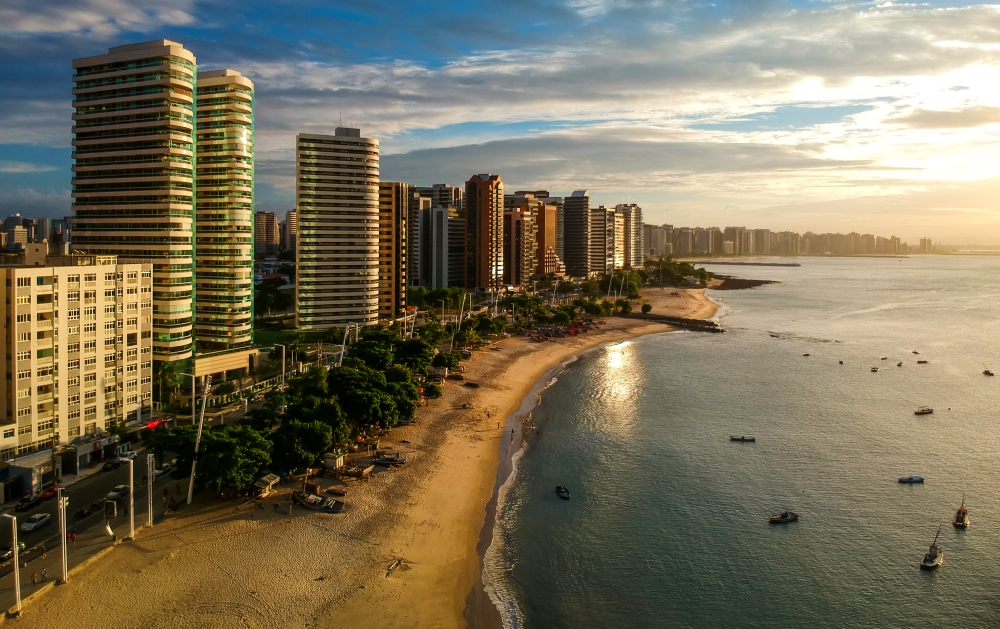 Fortaleza is the 12th richest city in Brazil by GDP