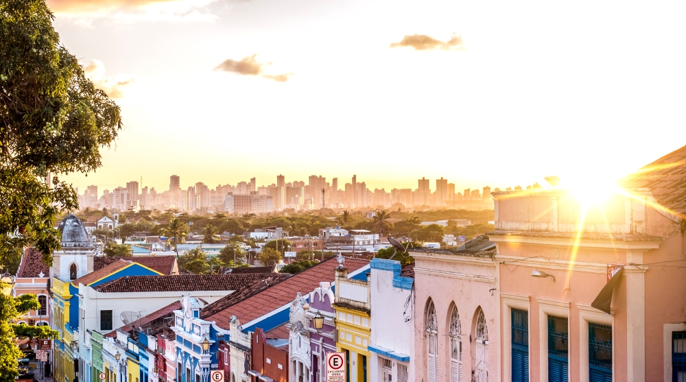 Recife is the fourth largest urban area in Brazil, with a population of just over 4 million