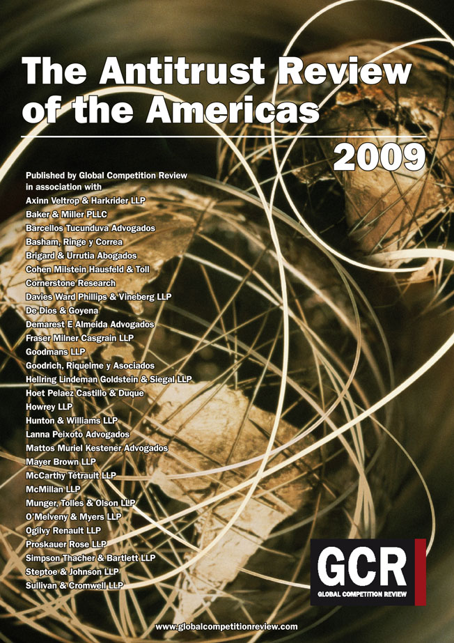 The Antitrust Review of the Americas 2009