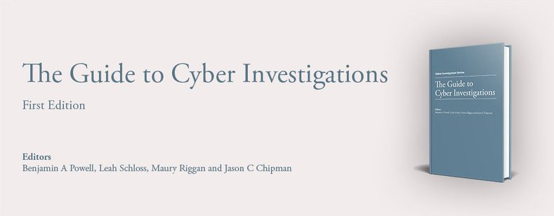 The Guide to Cyber Investigations - First Edition