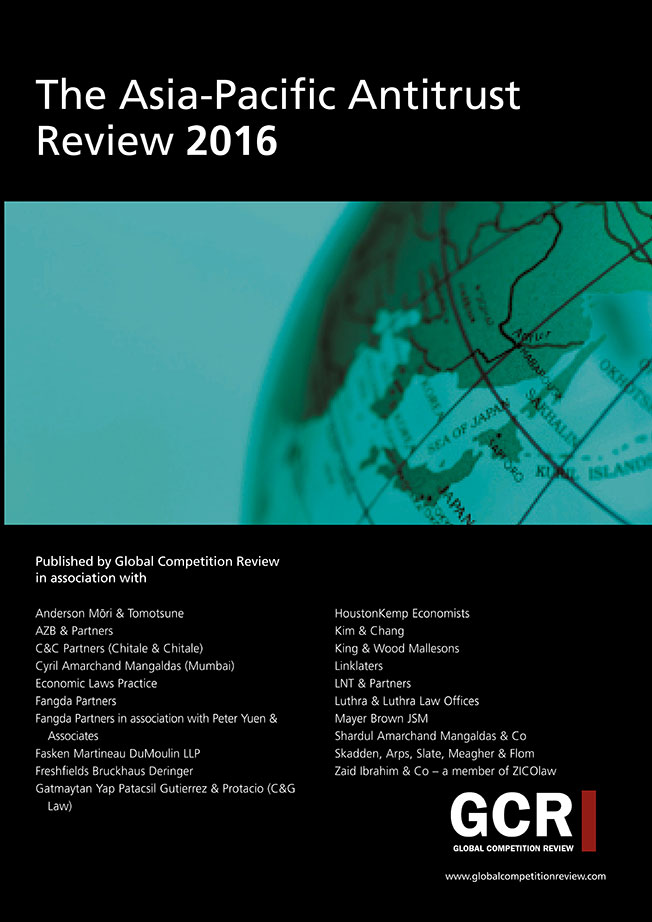 The Asia-Pacific Antitrust Review 2016