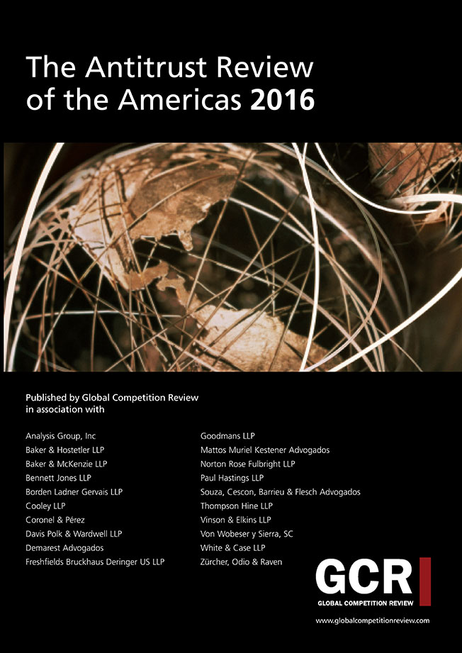 The Antitrust Review of the Americas 2016