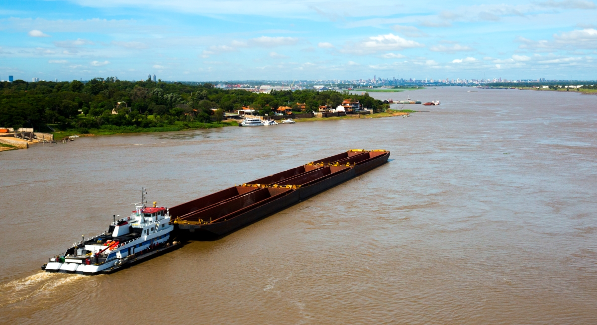 There are private ports located in Asunción and surrounding cities