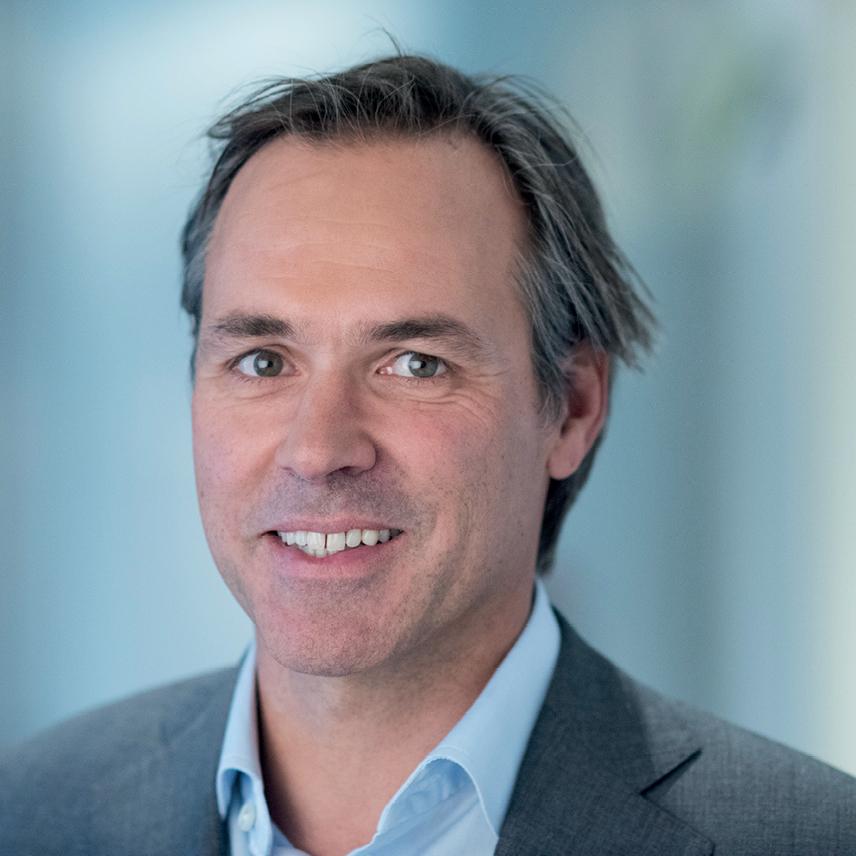 Volkert Teding van Berkhout, managing partner