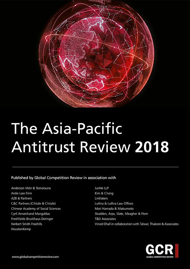 The Asia-Pacific Antitrust Review 2018