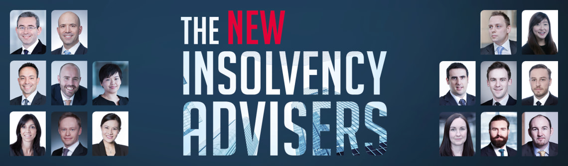 The New Insolvency Advisers