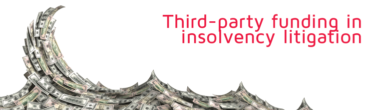Third-party funding in insolvency litigation