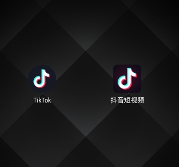 The app icons for TikTok and Douyin