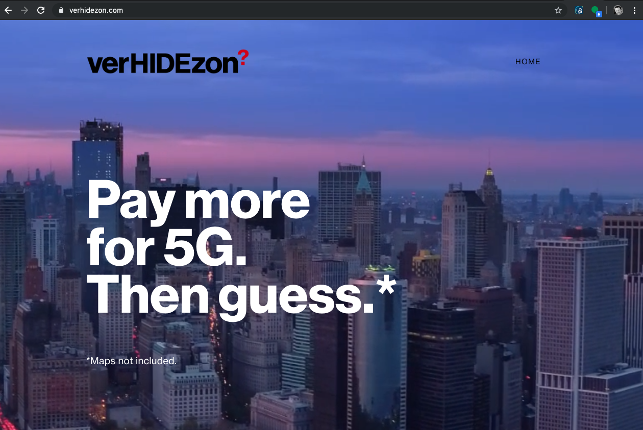 T-Mobile's recent ad campaign targeted Verizon's 5G service